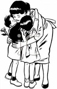 0511-0804-2412-3613_Mom_Hugging_Her_Kids_clipart_image